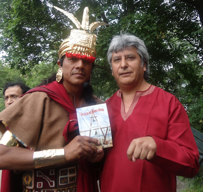 Junto al actor,amigo y hermano Inca Nivardo Carrillo