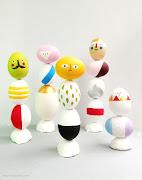 . ideas originales para decorar huevos de Pascua que nos han sorprendido . huevo figuras