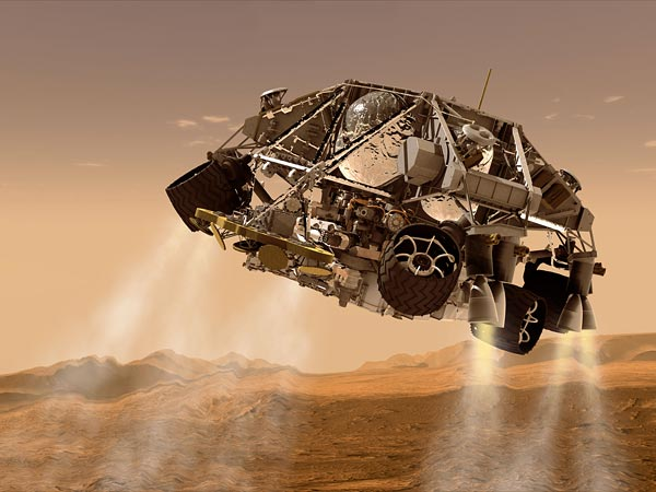 curiosity landing sequence - photo #21