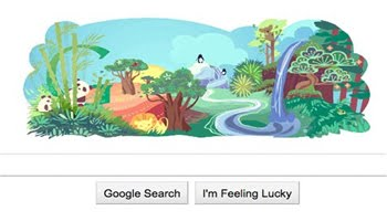 41st Earth Day is Celebrated by Google with Animated Google Doodle