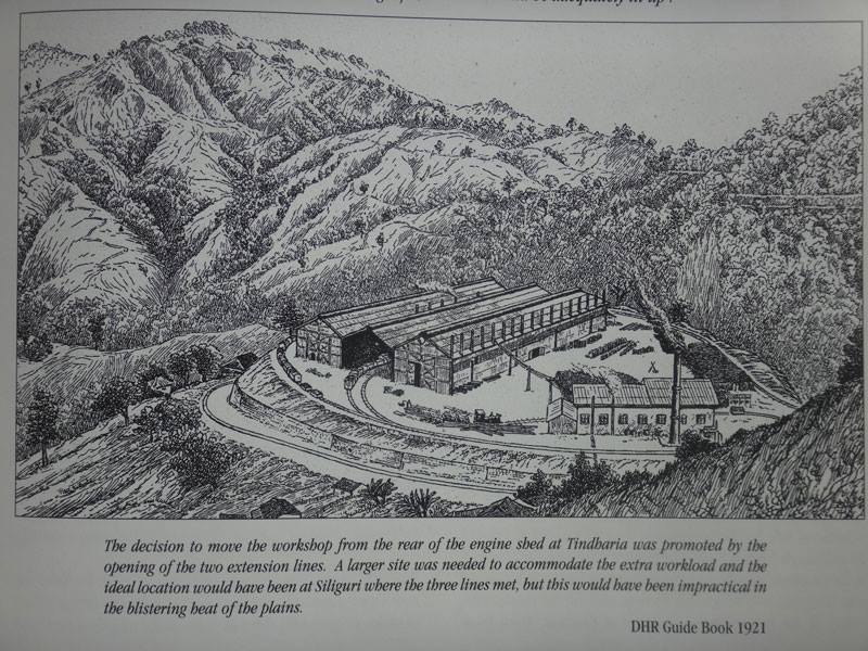 100 years of Tindharia workshop - DHR, Darjeeling Himalayan Railway