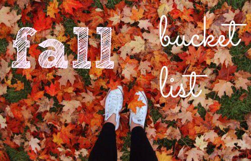 Fall Bucket List for a Beautiful Season - Autumn
