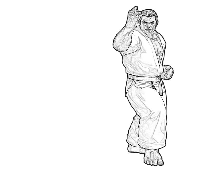 takuma-sakazaki-ability-coloring-pages