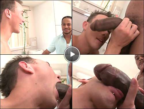 black hunk gay video