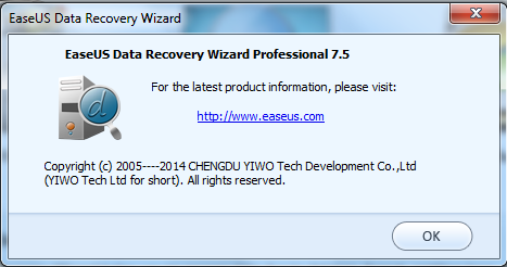 EaseUS Data Recovery 7.5