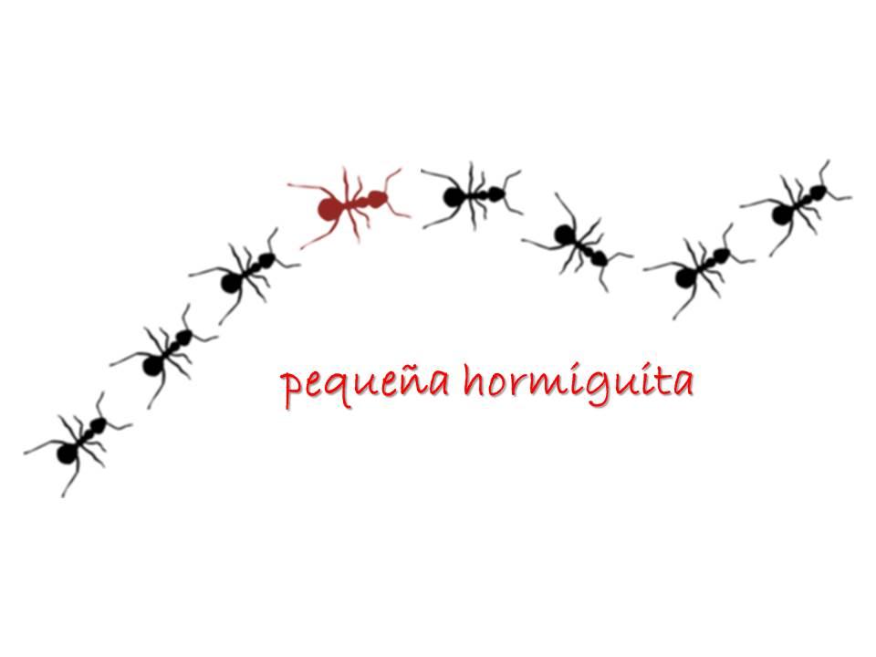 Pequeña hormiguita