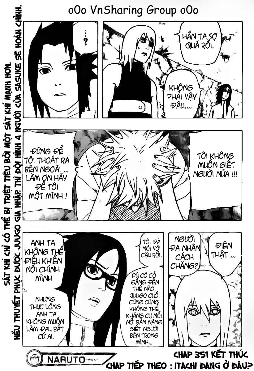 Naruto chap 351 Trang 17 - Mangak.info