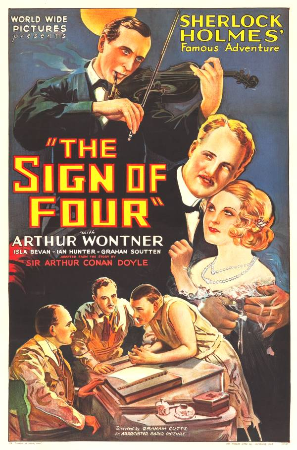 Sherlock Holmes: The Sign of Four Starring  Arthur Wontner, Isla Bevan, with Ian Hunter
