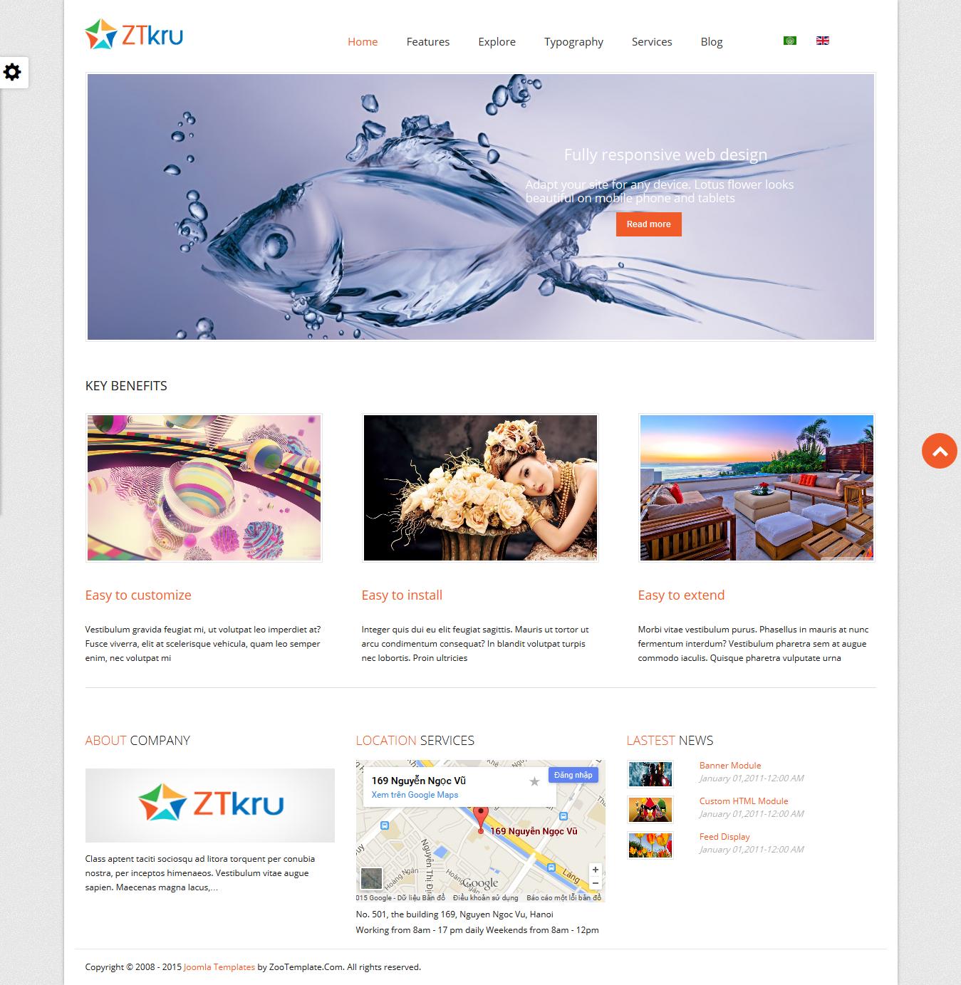Share template ZT Kru - Joomla 2.5