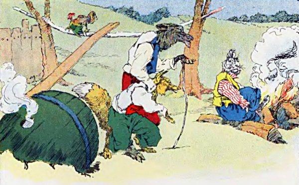 Brer Rabbit And Brer Lion Den ol 39 Brer Rabbit Stuck