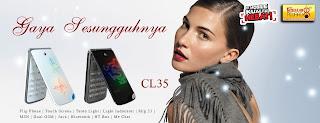 harga ponsel terbaru HT-CL35 spesifikasi 2012