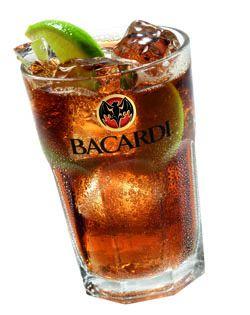 Bebidas e Drinks: Cuba Libre
