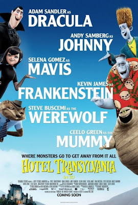 Hotel Transylvania cast list movie poster
