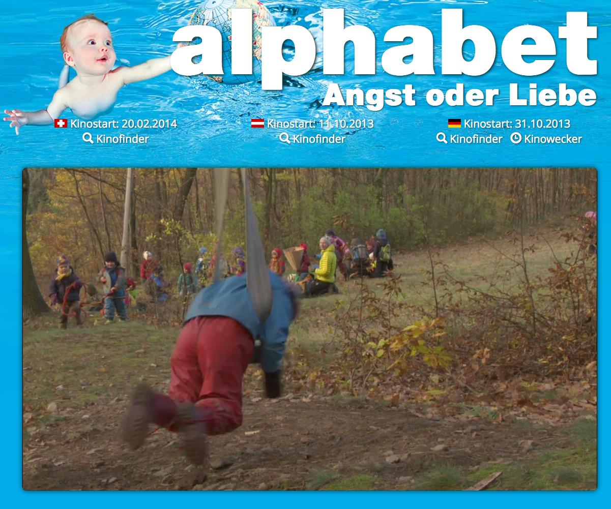 """Kinofilm """"alphabet"""" jetzt auch in der Schweiz - Homeschool Blog, Jan und Bernice Zieba"""