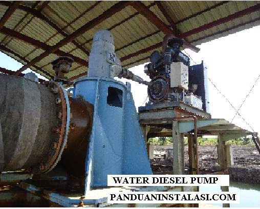water pump / pompa air