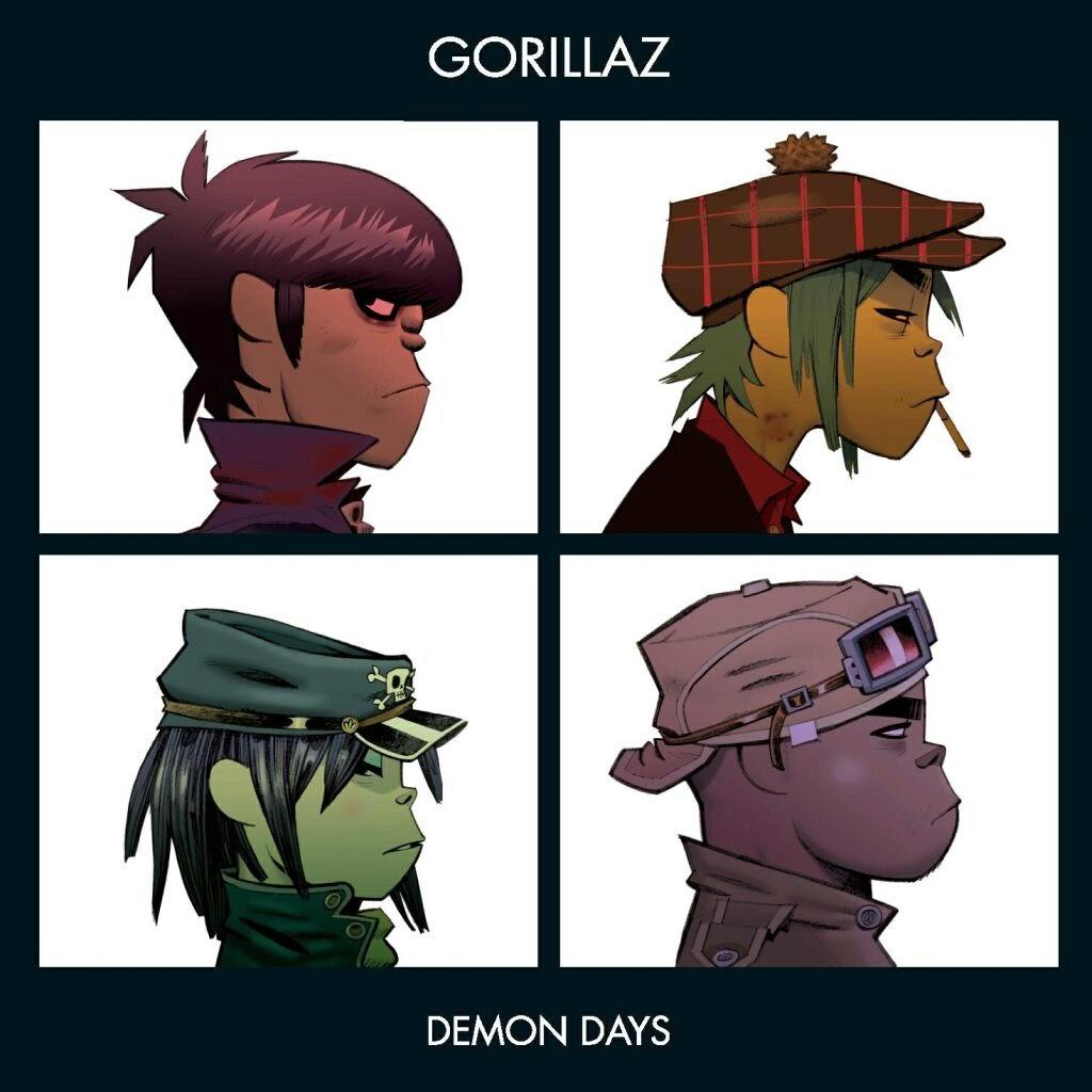 letra gorillaz demon day: