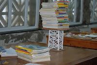 2º ESO- Torre triangulada de perfiles de papel 2009/2010