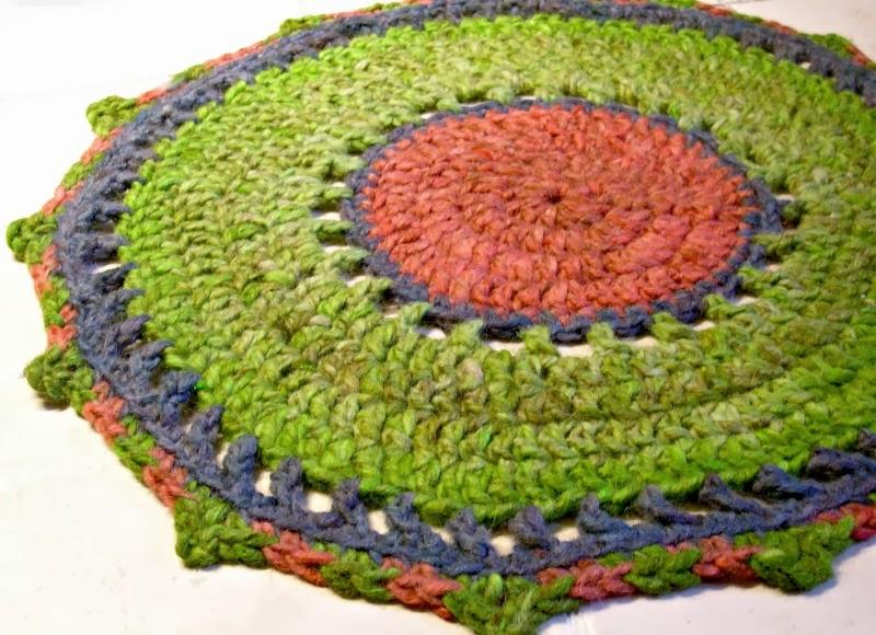 Sylvie damey patrons de crochet et ateliers en vercors - Modele tapis crochet gratuit ...