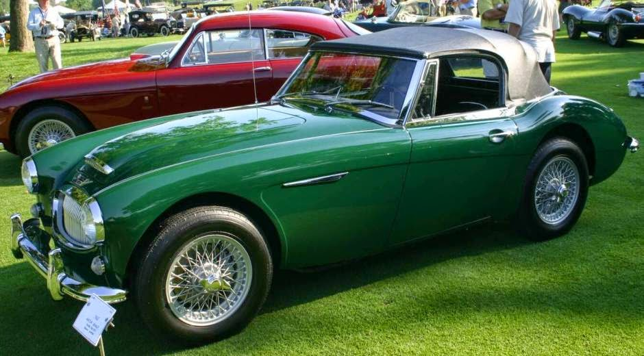 car walpaper: Classic British Sports Cars Austin Healey Iii
