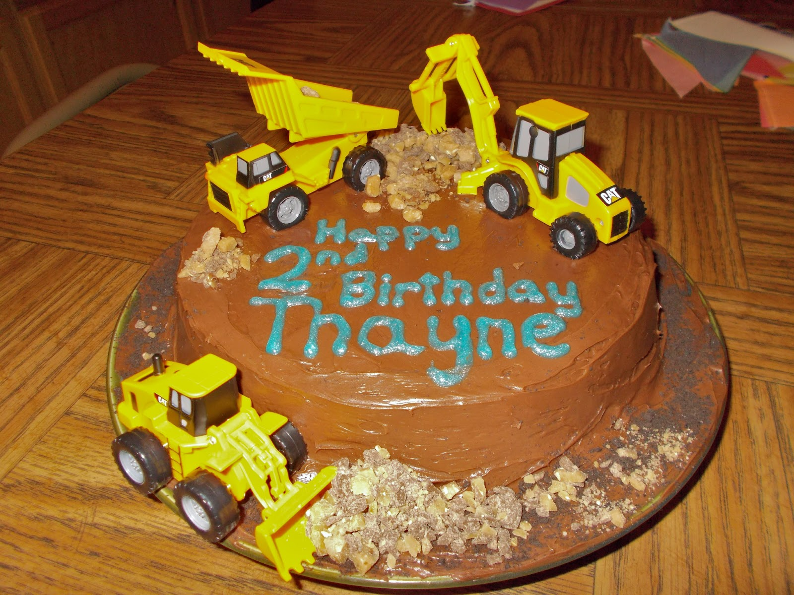joyus designs ConstructionDump Truck 2 year old Birthday