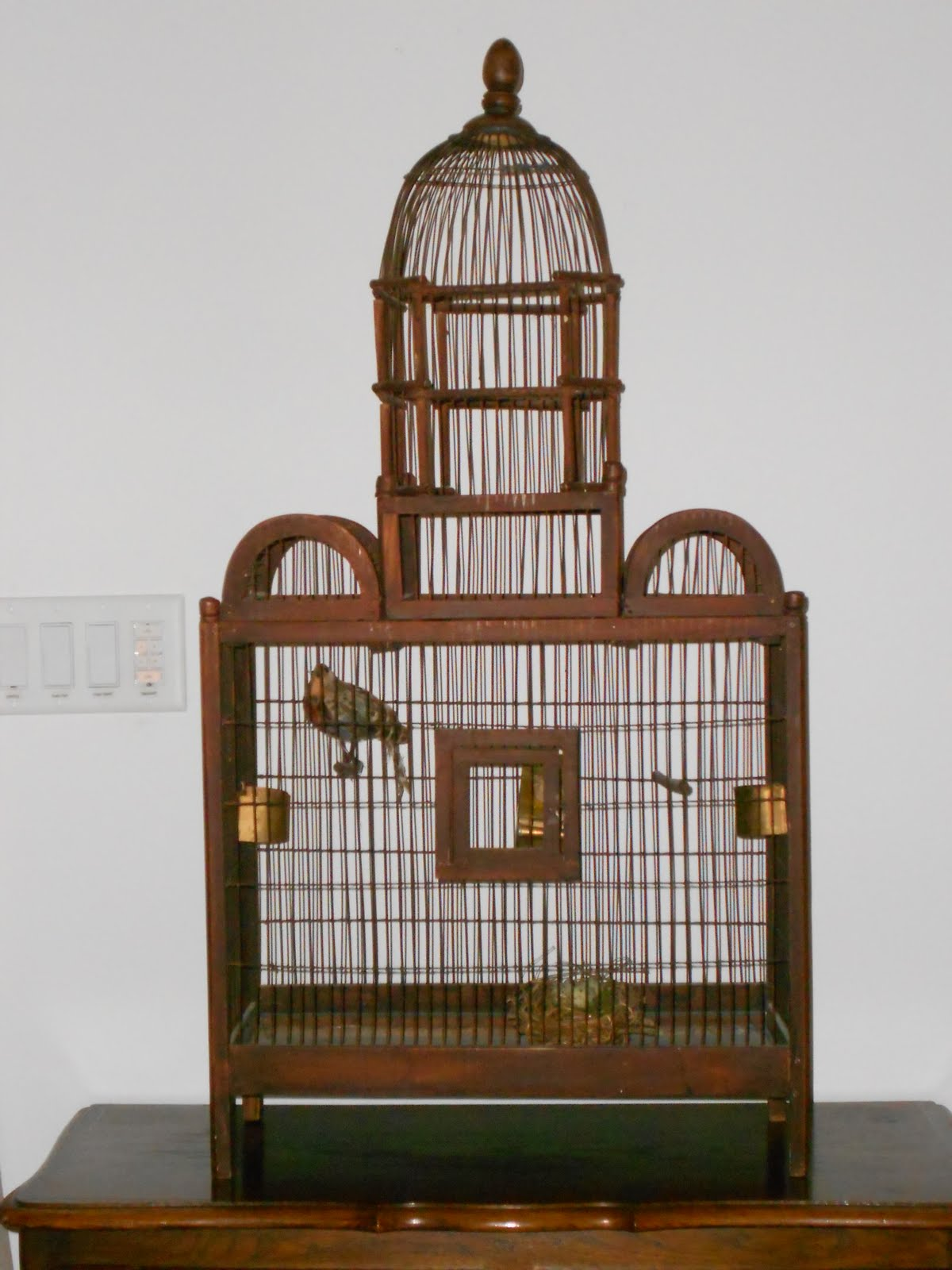 My Faux French Chateau Vintage Birdcages In Decorating