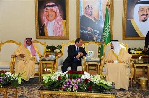 تفاصيل أول زيارة رسمية للسيسى للسعودية منذ تولى الملك سلمان الحكم.