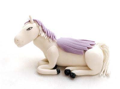 Barbie Pegasus fondant