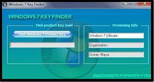 WINDOWS 7 KEY FINDER