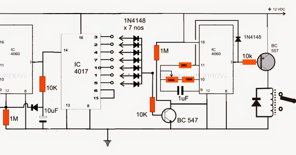 week day programmable timer circuit