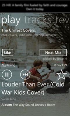 mixtapes windows phone app