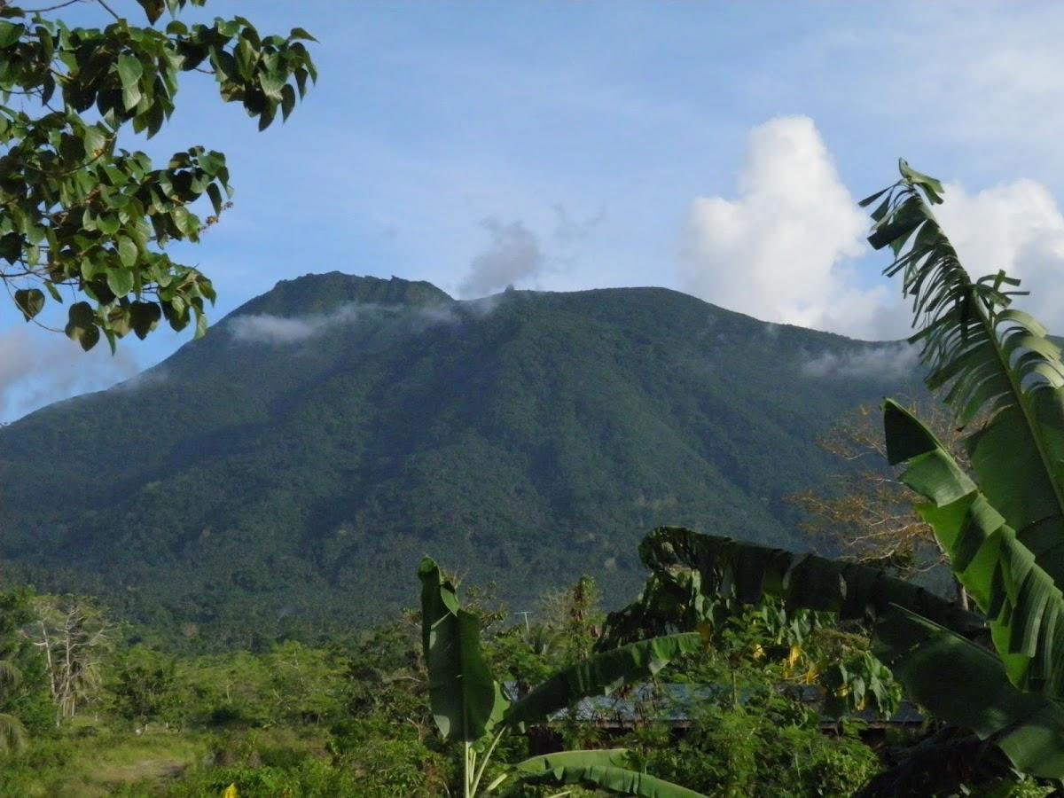 Mount Hibok-Hibok (also known as Catarman Volcano is a stratovolcano