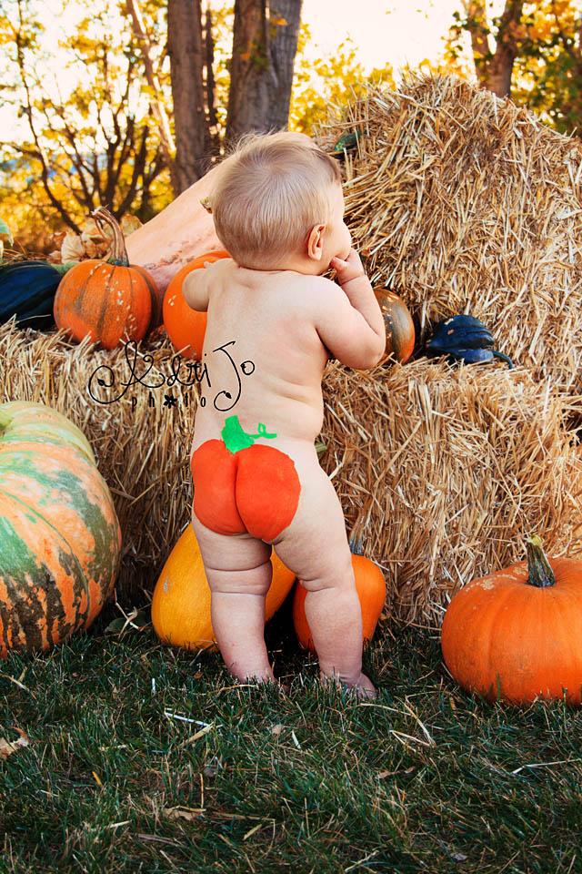 Pumpkin Bummy Boy
