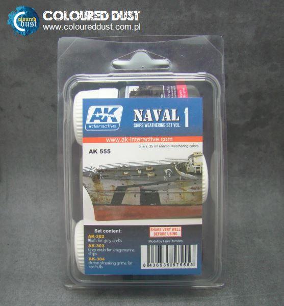 AK 555 SHIPS WEATHERING SET VOL.1