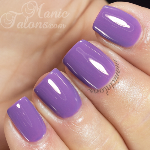 Pink Gellac Lavender Purple Swatch