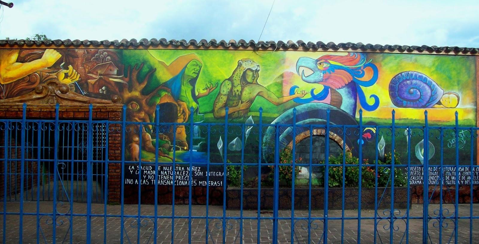 Javier espinal mural colectivo valle de angeles for Arte colectivo mural