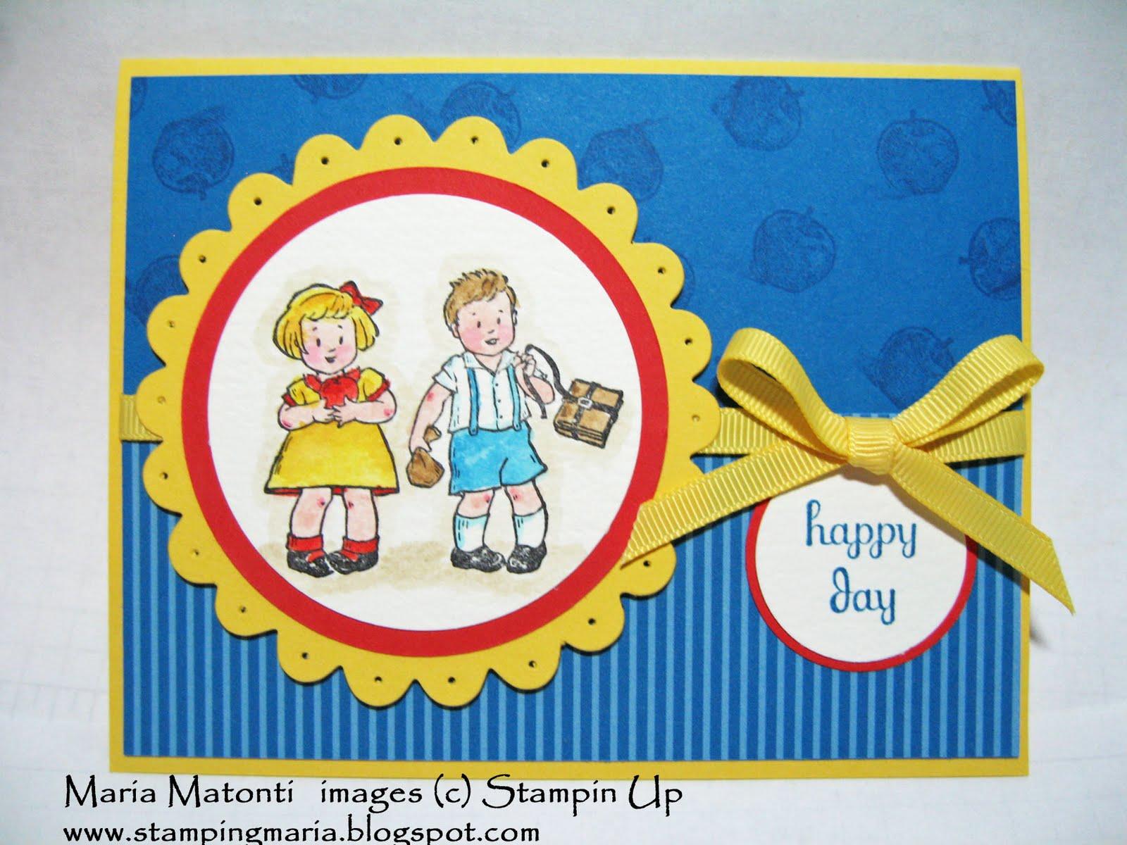 Marias stamping station back to school card using greeting card back to school card using greeting card kids stamp set m4hsunfo