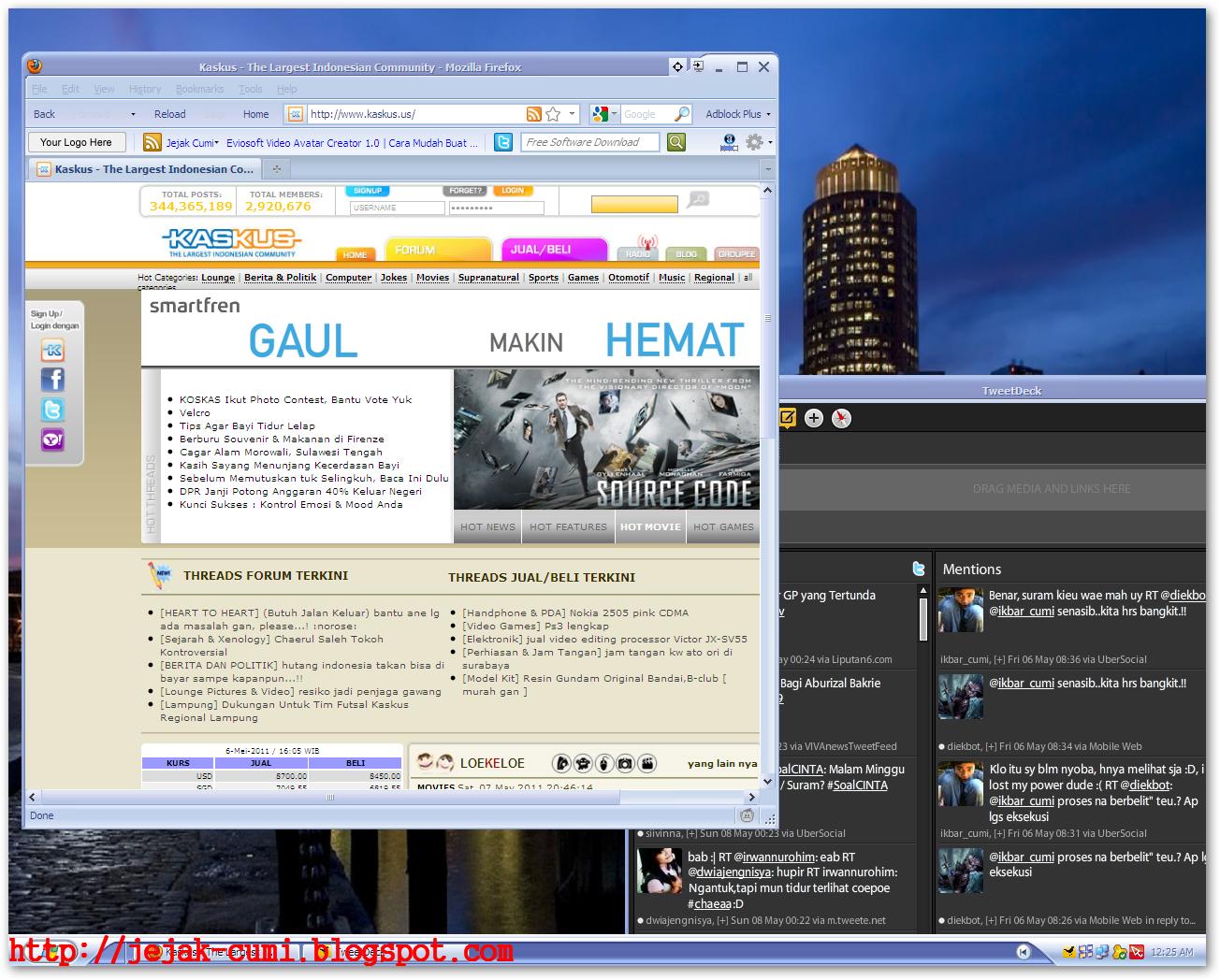Actual Multiple Monitors 3.1 7 | Satu Komputer Jadi Dua ~ Jejak Cumi ...