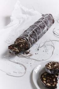 Prosecco Chocolate Salami Recipe | Healthy Chocolate Recipe