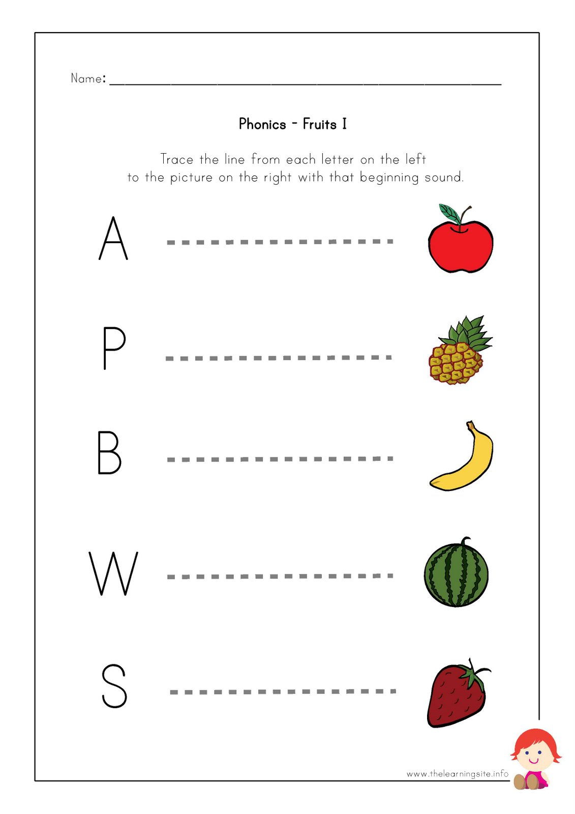 Phonic worksheets pdf
