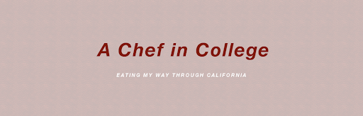 A Chef in College