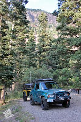 Suzuki Sidekick Camping