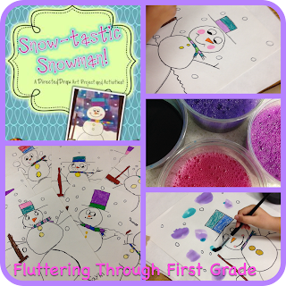 http://www.teacherspayteachers.com/Product/Snow-tastic-Snowmen-Directed-Draw-Art-Project-and-Activities-500832