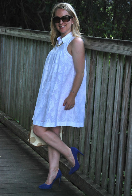 how to style a little white dress, LWD, anthropologie