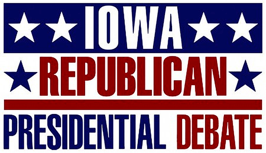 Iowa Republican Debate Logo