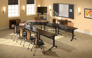 Horseshoe Training Tables Configuration