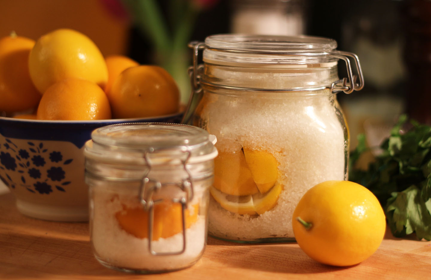 66 Square Feet (Plus): Preserved lemons