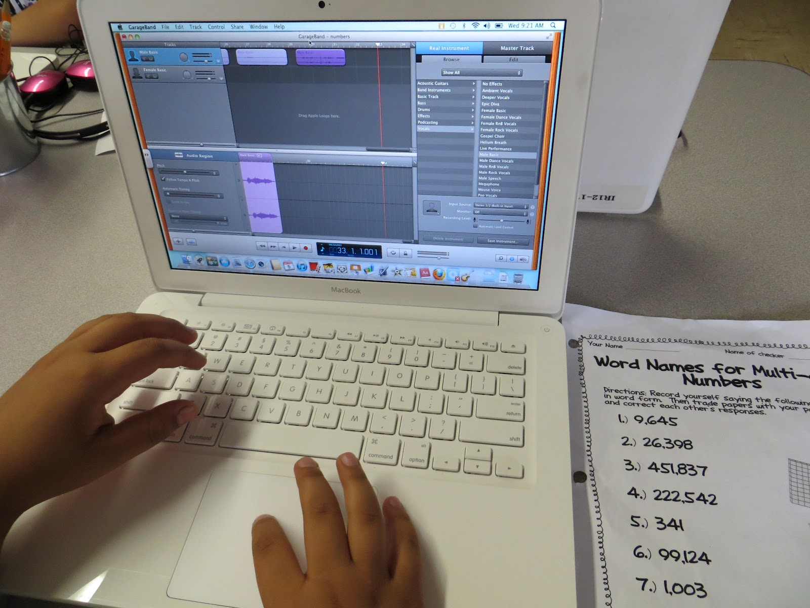 Technology Tailgate: Using Garage Band for Math Practice