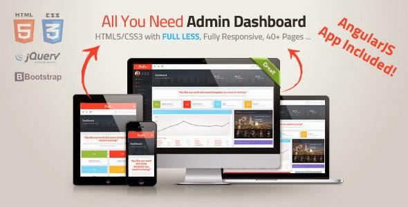 pixpro admin template free