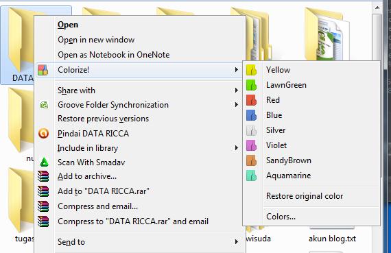 Cara Merubah Warna Folder Di Windows