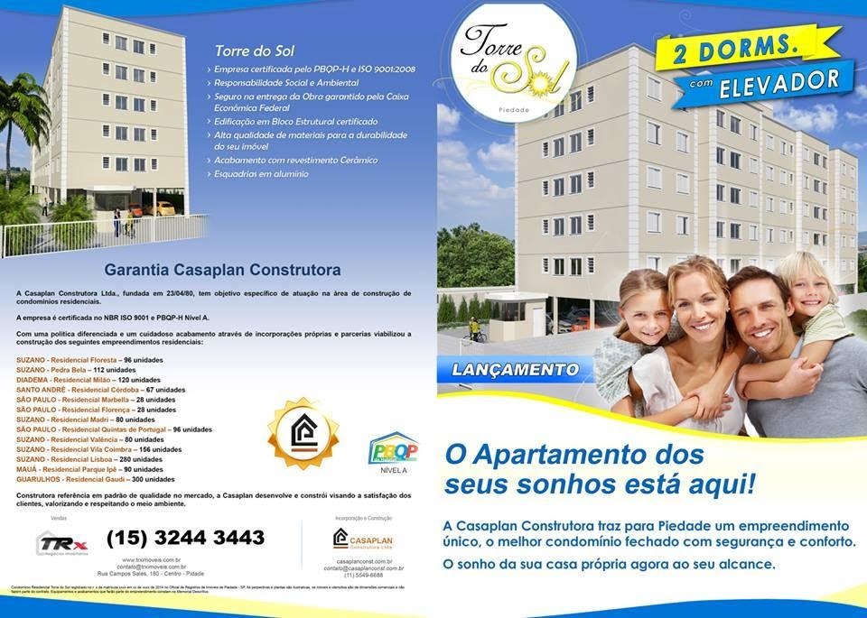 Torre do Sol - O apartamento dos seus sonhos está aqui!